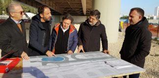 al via il cantiere per la realizzazione del playground sotto il ponte adriatico