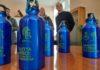 borracce in alluminio per gli alunni delle scuole primarie e medie
