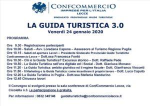 locandina seminario 'la guida turistica 3.0'