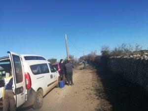 pulizia delle strade rurali
