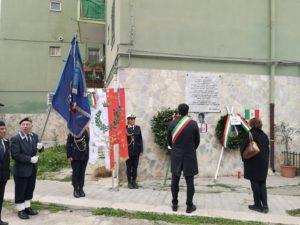 cerimonia commemorativa per i martiri delle foibe