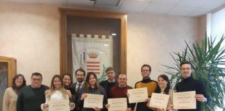 il sindaco di barletta cosimo cannito incontra i volontari del servizio civile