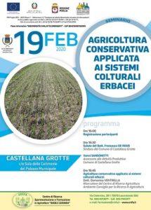 locandina seminario agricoltura conservativa