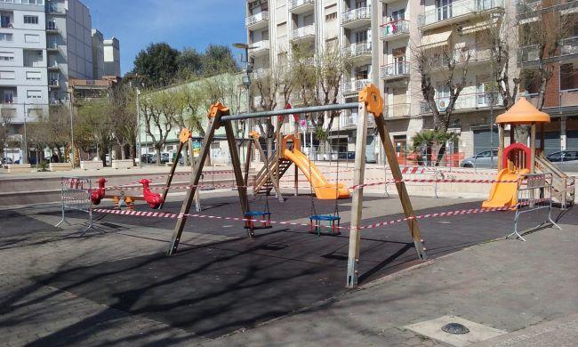 chiusura parco barletta