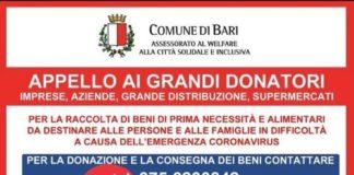 appello del comune ai grandi donatori