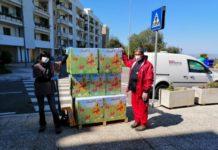 bari multiservizi dona 130 uova di pasqua - la consegna alla cbb