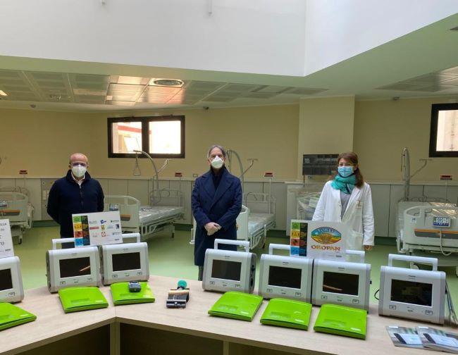 consegna ventilatori al policlinico di bari 20200424