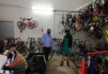 inaugurata l'accademia della bici - progetto finanziato da urbis della scuola di ciclismo franco ballerini
