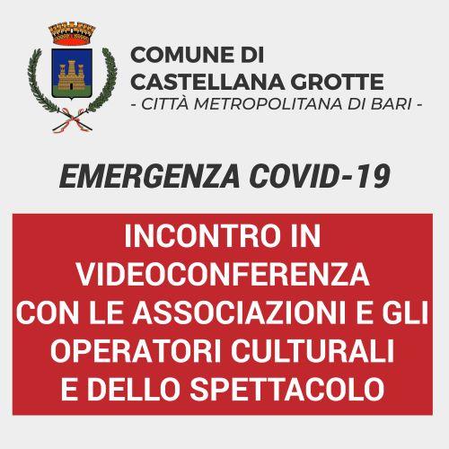 videoconferenza cultura