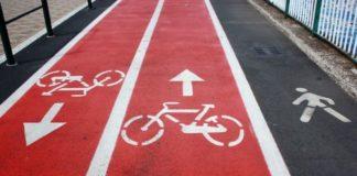 esempio di pista ciclopedonale