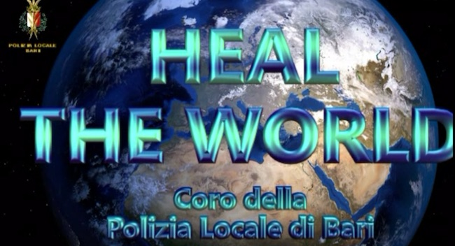 Heal the world - Coro della Polizia Locale di Bari