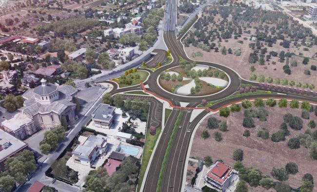 interventi viari raddoppio linea fal - rotatoria viale tatarella
