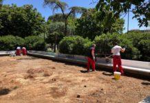 parco 2 giugno - precisazione assessore galasso su laghetti e tartarughe e lavori in corso