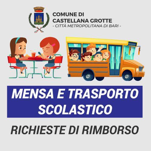 rimborso mensa e scuolabus