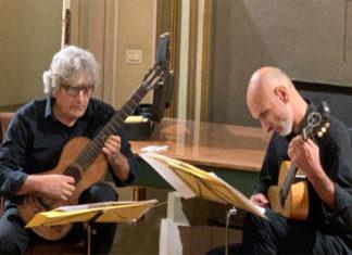 chitarristi claudio fittante e fabio sirianni