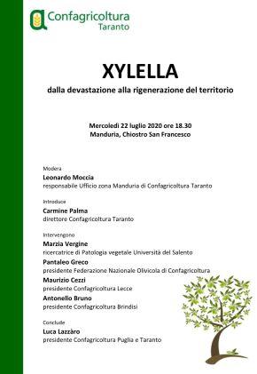 locandina convegno xylella manduria