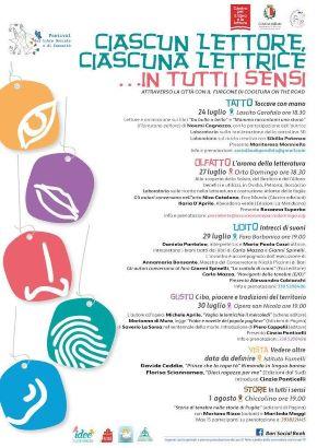 locandina festival del libro sociale e di comunità
