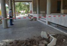 atti vandalici alla sede del consiglio comunale
