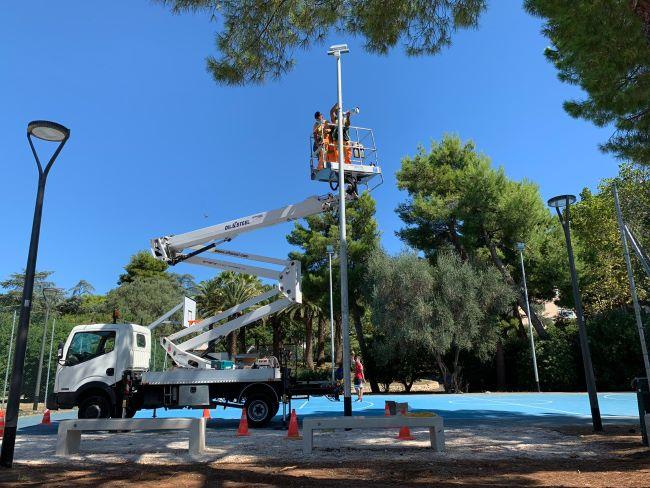 montate 4 telecamere di videosorveglianza nel parco 2 giugno