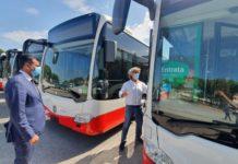 arrivati i primi 8 bus ibridi dei 23 acquistati con fondi regionali