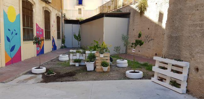 domani la presentazione del cortile della scuola san nicola trasformato dai minori del centro servizi per famiglie