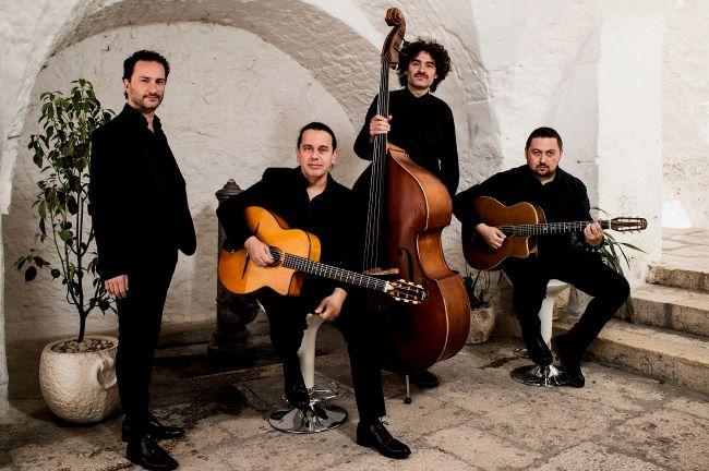 fabio lepore & il salvatore russo gypsy Jazz trio