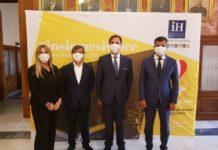 ih hotels group ha incontrato il sindaco per la donazione 100 mila mascherine chirurgiche alla città di bari