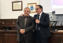 il sindaco franco ancona e gianni genco