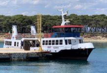 motonave 'clodia' kyma mobilità amat - ormeggio a Isola san pietro