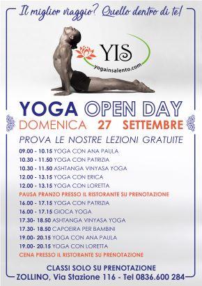 open day lecce programma