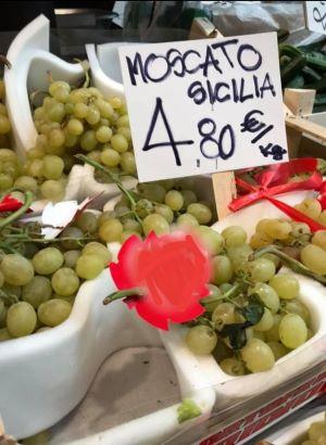 uva a 4 euro e 80