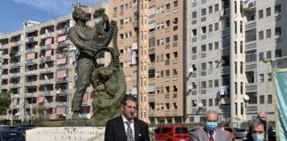 presidente deandri e monumento caduti lavoro anmil taranto
