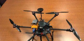 sensore su drone