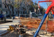 aree ludiche, altalena per disabili in piazza diaz a madonnella
