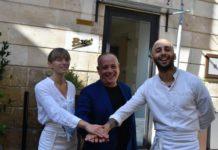 carmine notaro con ospiti edizione 2021 - chef Isabella potì e floriano pellegrino
