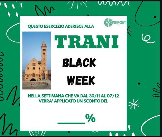 locandina trani black week