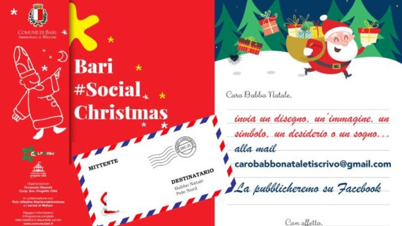 Scambio Auguri Di Natale.Bari L Assessorato Al Welfare Promuove La Vigilia Insieme Online Per Il Tradizionale Scambio Di Auguri