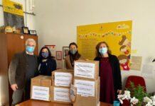 donazione del rotary club bari castello al comune di bari di beni alimentari e farmaceutici