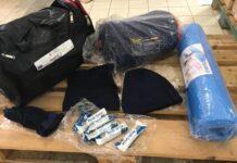 in distribuzione 400 kit per l'emergenza freddo a cura dell'unità di strada comunale