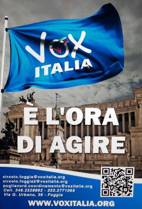 locandina vox italia puglia nord