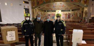 mascherine alle parrocchie per raggiungere e tutelare i più bisognosi