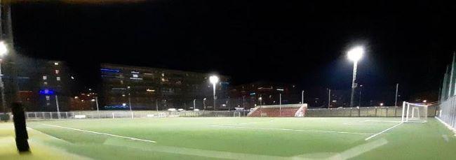 terminati lavori di adeguamento impianto di illuminazione campo sportivo diomede al san paolo