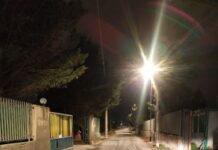 in funzione il nuovo impianto di pubblica illuminazione in via ascianghi nel municipio