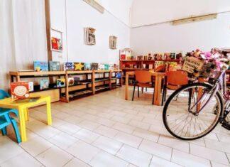 libri in bici