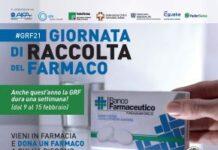 locandina giornata di raccolta del farmaco2021 banco farmaceutico