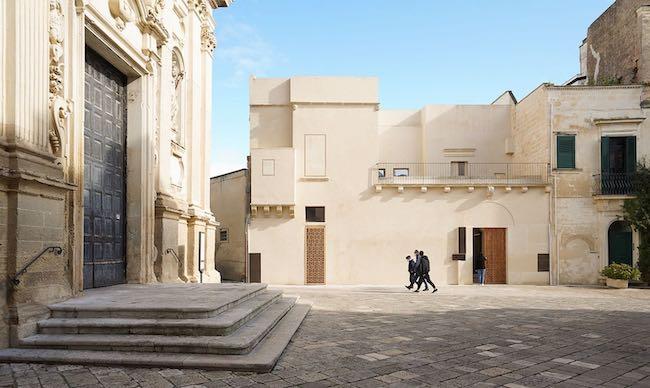 Facciata Fondazione Biscozzi Rimbaud 2