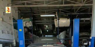 Auto rubata a Pescara ritrovata in un capannone aziendale a Cerignola