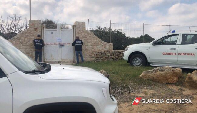 Sequestrato un B&B abusivo in un'area protetta a Polignano a Mare
