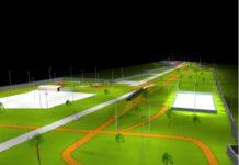 parco giovanni paolo II al san paolo - impianto di illuminazione