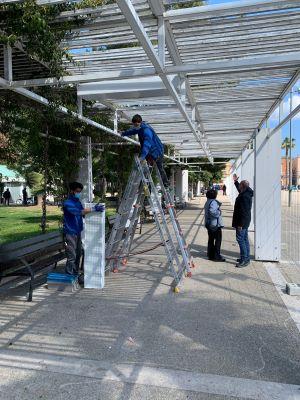 al via i lavori di p.i. e videosorveglianza in piazza umberto a carbonara